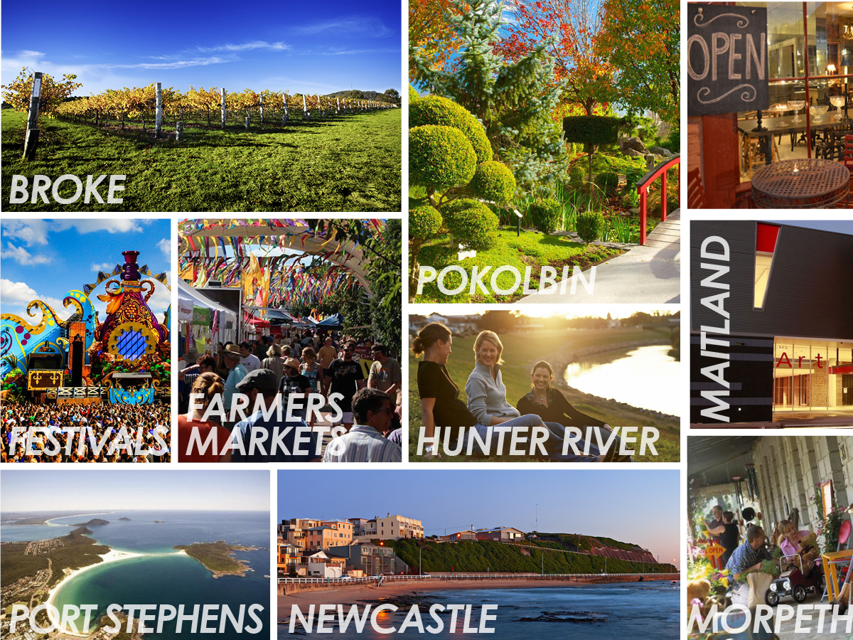 The Hunter Region right on your doorstep